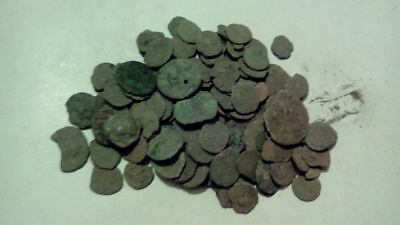 Lot Of 17 Ancient Roman Cull Coins Uncleaned & Extra Coins Added