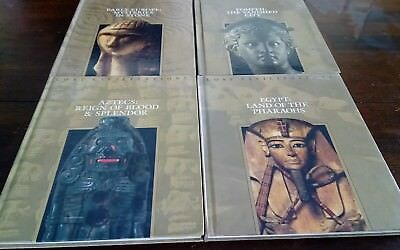 TIME LIFE BOOKS LOST CIVILIZATIONS LOT 4 HARDCOVER Egypt Aztecs Pompeii Europe
