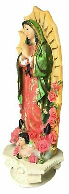 Our Lady Of Guadalupe Statue Virgin Mary Catholic Virgen De Guadalupe New