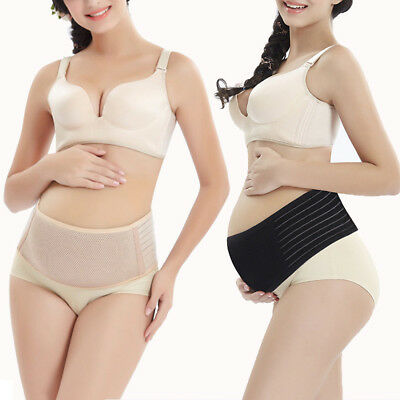 Pregnancy Maternity Abdominal Back Pelvic Support Belt Belly Band Breathable New