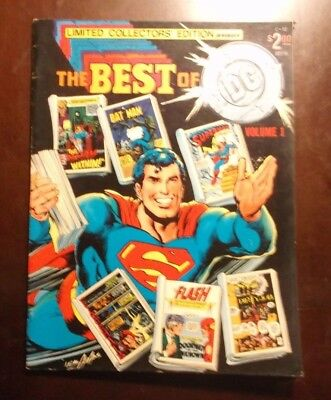 Limited Collectors Edition C-52 The Best Of Dc Volume 1 1977 Fine Vf Neal Adams