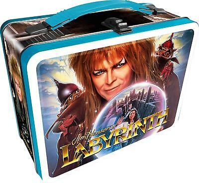 "Jim Henson's Labyrinth 8.63"" x 6.75"" Embossed Tin Lunch Box"