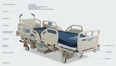 Hill Rom Care-Assist Care Assist ES Hospital Bed used only 2 weeks 10k OBO