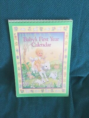 1989 Current Baby's First Calendar Year