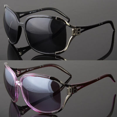New DG Retro Vintage Womens Designer Sunglasses Shades Fashion Black Wrap Square