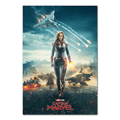 Captain Marvel Poster - Theatrical Art - High Quality Prints
