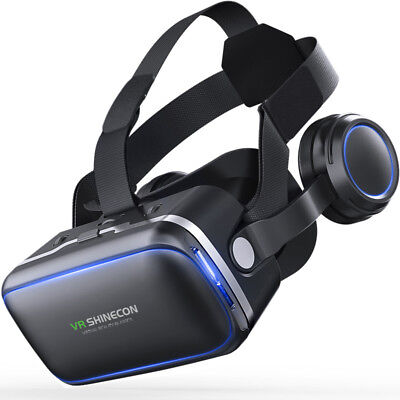 VR Shinecon 6.0 360 Degree Stereo 3D Virtual Reality Glasses Box Headset for 4.7
