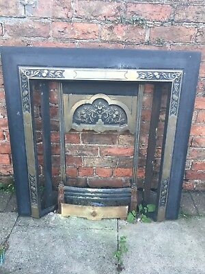 Cast Iron  Fire Surround, Ready Foryour Own Tiles!