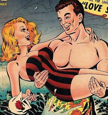 My Own Romance #23 Golden Age Romance: Marvel/atlas Stan Lee Editor (1952)