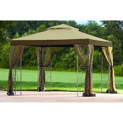 Sunjoy 10 x 10 ft. Replacement Canopy Cover for L-GZ813PST - Callaway Gazebo