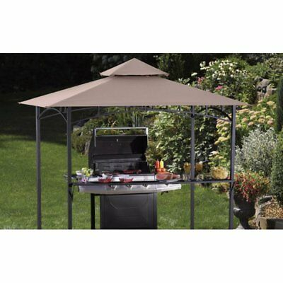 Sunjoy 8 x 5 ft. Replacement Canopy Cover for L-GZ238PST Grill Gazebo
