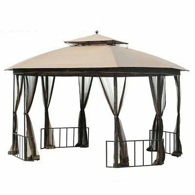 Sunjoy 10 x 12 ft. Replacement Canopy Cover for L-GZ660PST-D Gazebo