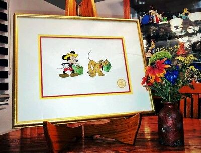 Disney's Mr. Mouse Takes A Trip Limited Edition Serigraph Cel