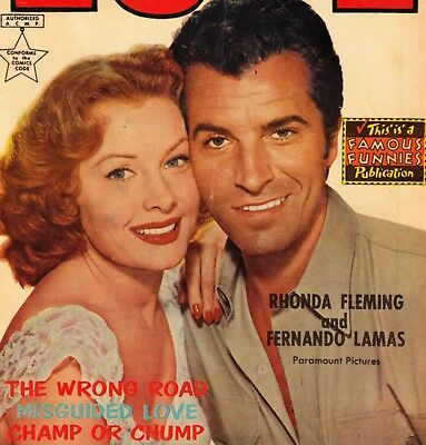Personal Love #27 Golden Age Romance Eastern/famous Funnies *photo Cover* (1954)