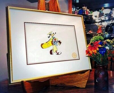 """Disney's """"how To Play Golf"""" Limited Edition Serigraph Cel...goofy!"""