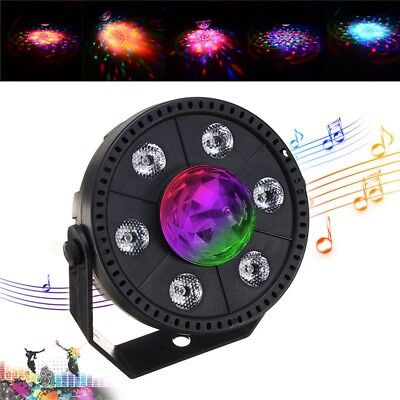 RGB LED Stage Light Strobe Light Crystal Ball Party Club DJ Disco Atmostphere Li