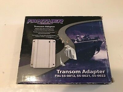 Panther Transom Adapter for 55-0012, 55-0021 and 55-0022 Outboard Motor Brackets