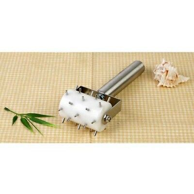 Stainless Steel Roller Dockers Plastic Barrel Non-Stick Surface Dough Scrapers