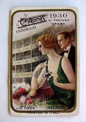 Super Rare 1930s Perfume / Cologne Advertising Booklet Italian Great Pictures