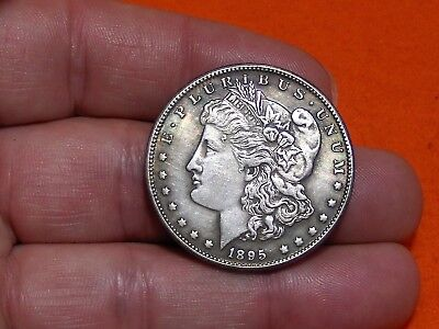 Double Sided Heads 1895 U.s Morgan Dollar Trick Magic Novelty Coin