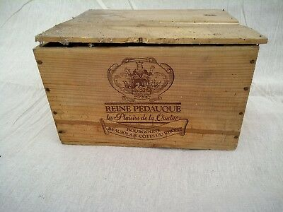 Vintage wooden wine box