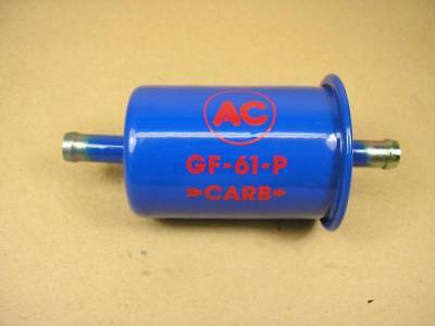 1957 1966 Pontiac Fuel Filter GF61P; Blue With Red Lettering, C854619R