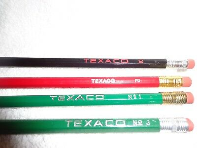Vintage Texaco Lead Pencils