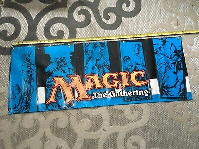 "18"" x 47"" Double Sided banner for Store Vintage Magic the Gathering"