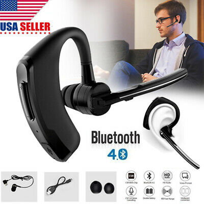 Noise Cancelling Headset Bluetooth Wireless Phone with Mic Trucker Truck Driver