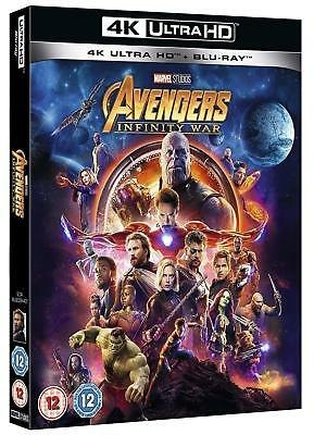 The Avengers Infinity War (2018) 4K Ultra HD UHD Blu-ray New Region Free A,B,C