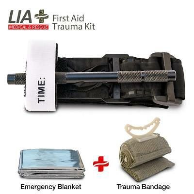 Tourniquet First Aid Kit Rapid One Hand Application Emergency Outdoor