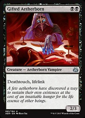 MRM FRENCH Etherien doué - Gifted Aetherborn MTG magic AET