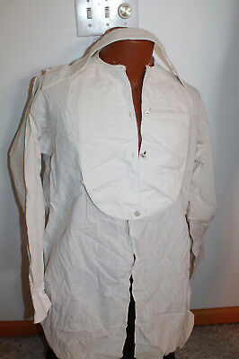 Mens Arrow Shirt from early 1900 w/ mother of pearl and brass stud buttons