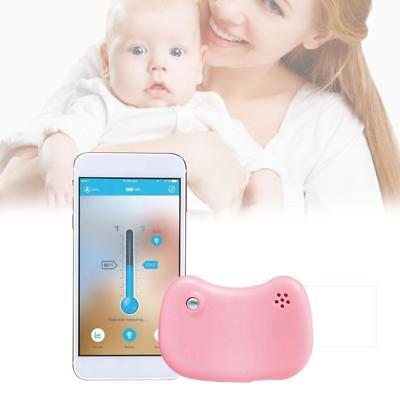 Baby Bluetooth Clever Armband Fieber Thermometer Hoch Temperatur Alarm 24 Hour
