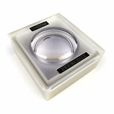 ONZOW Zero Dust Stylus Cleaner BLACK Magnifying Lid NEW Needle Turntable Accesso
