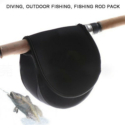 Fishing Reel Cover Bag Spinning Reel Wheel Pouch Holder Protective Case Cover