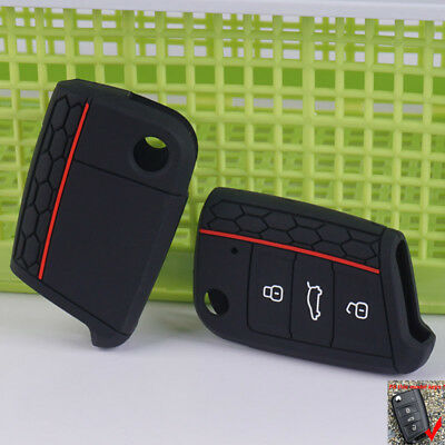Silicone Car Key Cover Case For Skoda Octavia Superb Yeti Roomster Fabia Rapid