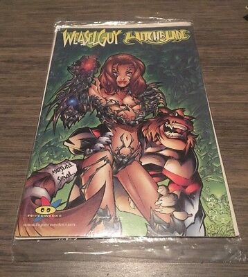 Weasel Guy Witchblade #1A VF/NM; Hyperwerks Comic