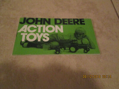 Vintage 1970S John Deere Action Toys Catalog 35 Pages Ex-Mt
