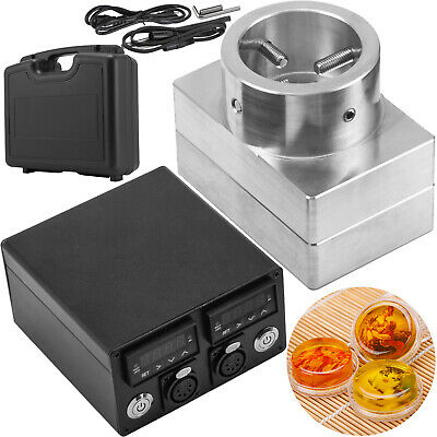 "3""X5"" Rosin Press Plate Kit Singler Layer Controller Dual Pid With Heating Rod"