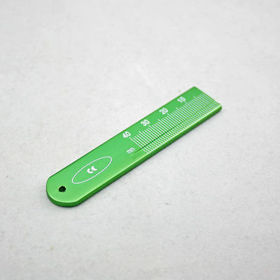 1 Pcs Dental Endodontic Span Measure Scale Ruler Root Canal Instruments Green