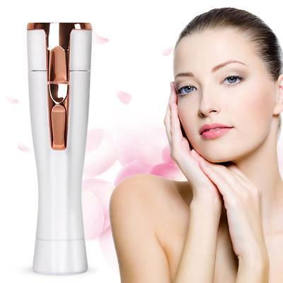 USB Rechargeable Electric Shaver Facial Epilator Painless Hair Remover for Women