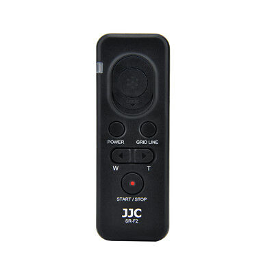 JJC SR-F2 replaces Sony RM-VPR1 Remote Commander for Sony camera or camcorders