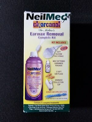 NeilMed Clearcanal Ear Wax Removal Kit
