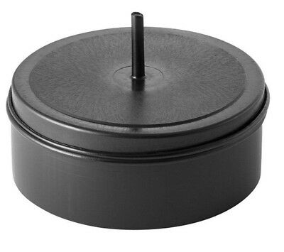 2x Geberit ELECTROFUSION END CAP Black- 50mm Or 90mm