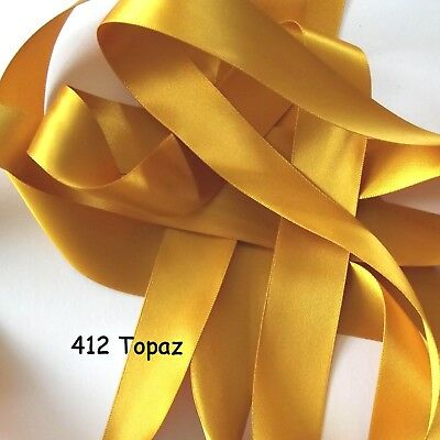 R62 Double Satin Ribbon 5mm wide Ribbon Berisfords,Shades 9788-9792 4m