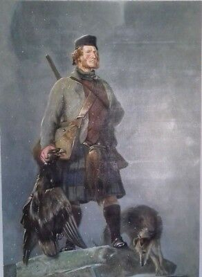 Scotland  The Highlander  Sir Edwin Landseer Genuine Reproduction Oil Painting
