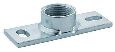 """Geberit PLUVIAFIX MOUNTING PLATE 12cm With 1"""" Nut, Galvanised Steel"""