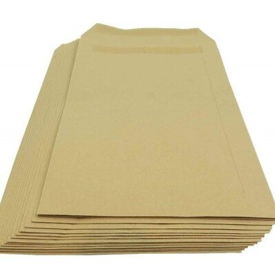 Strong Postal A4 C4 A5 C5 Plain (No Window) Self Seal Manilla Brown Envelopes