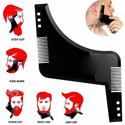 Styling Barba Shaping Tool Template Pettine Barber Symmetry Line Up Trimming